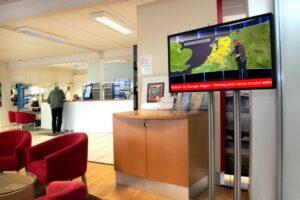 zakelijke-tv-informatiepaneel